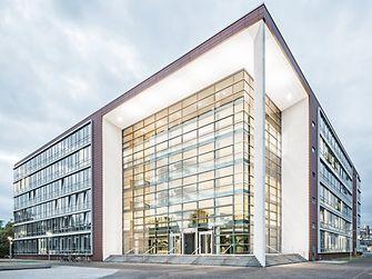 Aerial view of Henkel's headquarters in Düsseldorf